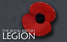 Click on the poppy to donate to the Poppy Appeal